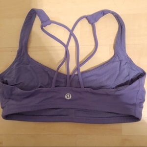 Periwinkle Lulu lemon sports bra